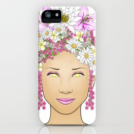 Natural Beauty - Flowers of Asia iPhone Case