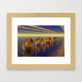 Harmonie Framed Art Print