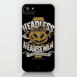 Headless Hearsemen iPhone Case