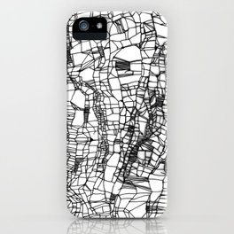 deconstructed knit iPhone Case