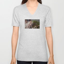 Dry Grass, Moss, and Rock Unisex V-Neck