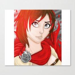 Ruby Rose Canvas Print