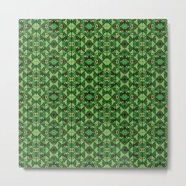 Wari III Pattern Metal Print