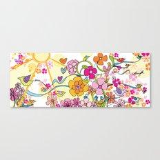 Peace, Joy, Love and Strength Canvas Print