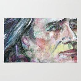 FRANZ LISZT - watercolor portrait.2 Rug