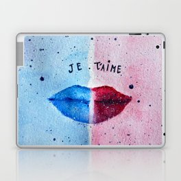 """Je T'aime"" (I love you) - Original Artwork by Denise Sagun Laptop & iPad Skin"
