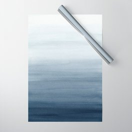 Ocean Watercolor Painting No.2 Wrapping Paper