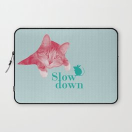 Slow down Laptop Sleeve