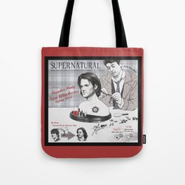 Supernatural Toy Co. Slumber Party Sam Winchester Styling Head Tote Bag