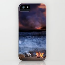 Kilauea Volcano Lava Flow. iPhone Case