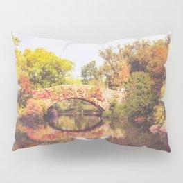 New York City Autumn Bridge Pillow Sham