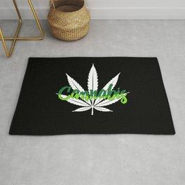 Cannabis | Marijuana Weed Pot Head Gifts Rug