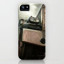 Rusty Warrior iPhone Case