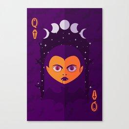 Queen V Canvas Print