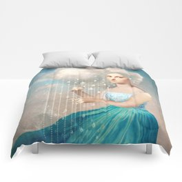 Melody of Rain Comforters