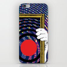 Red dot iPhone & iPod Skin