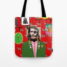 Wes Anderson illustration Tote Bag