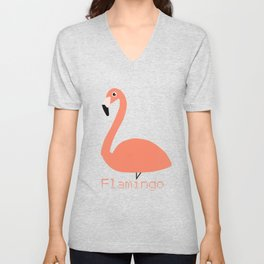 Flamingo Fever Unisex V-Neck