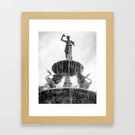 Goddess of Serenity Framed Art Print