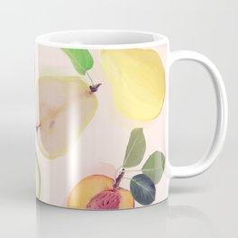 seamless   pattern with fresh fruits . Endless texture Coffee Mug