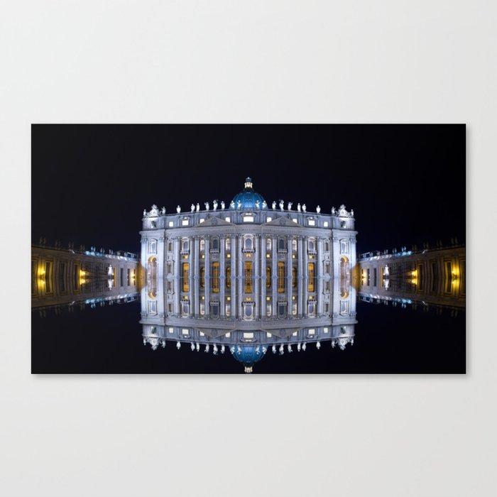 Vatican City Reflexion Canvas Print