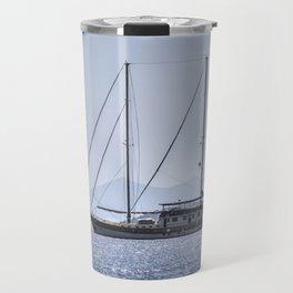 Schooner Yalikavak Marina Bodrum Travel Mug
