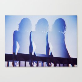 Three of Me Canvas Print