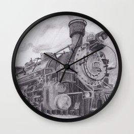 Durango and Silverton Steam Engine Wall Clock