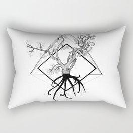 Dead Cherry tree Rectangular Pillow