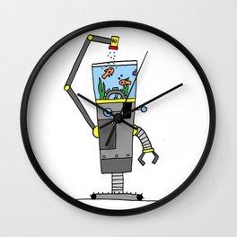 Robo-Fish Wall Clock