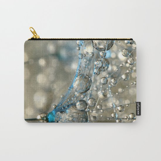 Cyan & Gold Carry-All Pouch