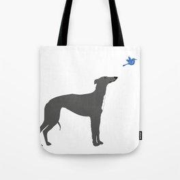 Whippet Dog Tote Bag
