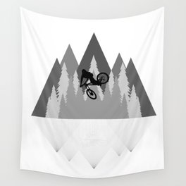 MTB Whip Gray Wall Tapestry