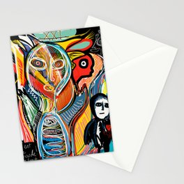 Graffiti Street Art Le Monde Tarot by Emmanuel Signorino   Stationery Cards