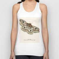 moth Tank Tops featuring Moth by Elyse Beisser