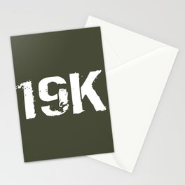 19K M1 Armor Crewman Stationery Cards