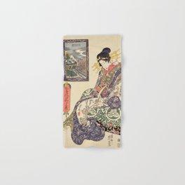 Geisha women Hand & Bath Towel