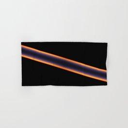 Black Stripes Hand & Bath Towel