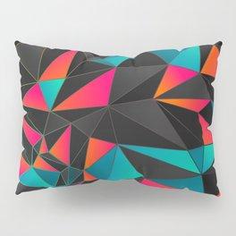 Geometrical Sunset Pillow Sham