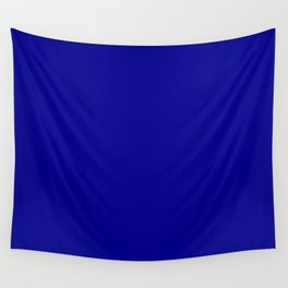 Dark Blue Wall Tapestry