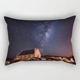 Lake Tekapo, New Zealand Night Sky Rectangular Pillow