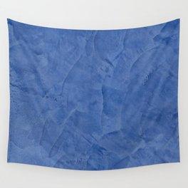 Light Blue Stucco - Corbin Henry Monochromatic texture -Faux Finishes - Venetian Plaster Wall Tapestry
