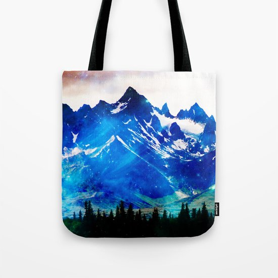 Galaxy Mountain V2 #society6 #decor #buyart Tote Bag