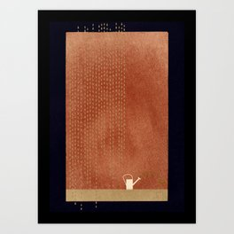 Yourself And Another Rhythm Art Print