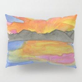Rocky Mountain Sunset Pillow Sham