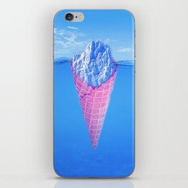 Ice Cream Berg iPhone Skin