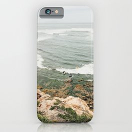 Sea Cave Surfing iPhone Case