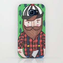 Timber Lumberjack iPhone Case
