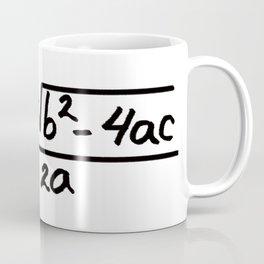 quadratic equation formula Coffee Mug
