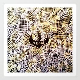 Black Book Series - Patches Art Print